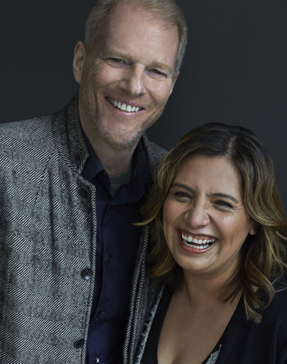 Noah Emmerich & Cristela Alonzo /  ITS harassment campaign