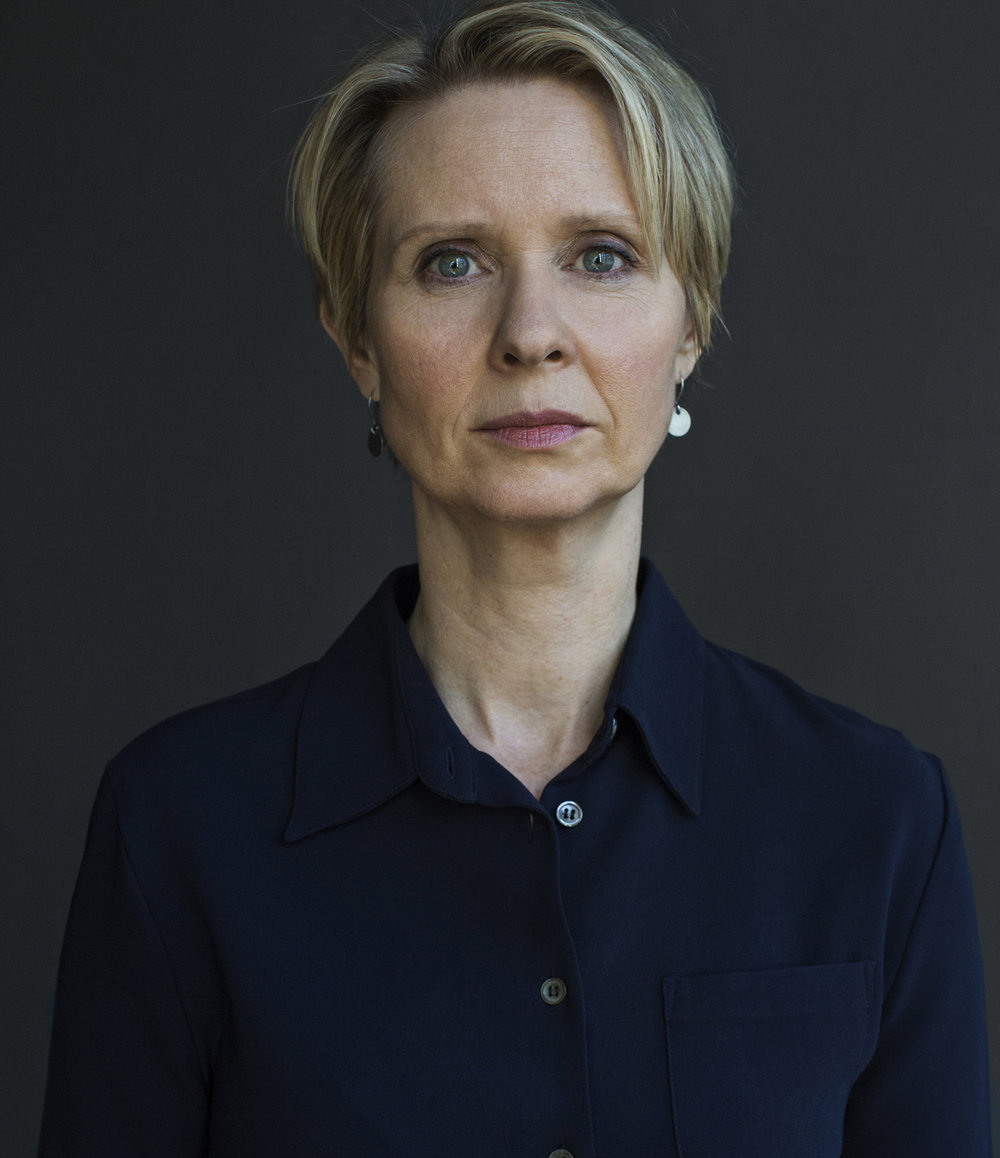 Cynthia Nixon / ITS HARASSMENT campaign