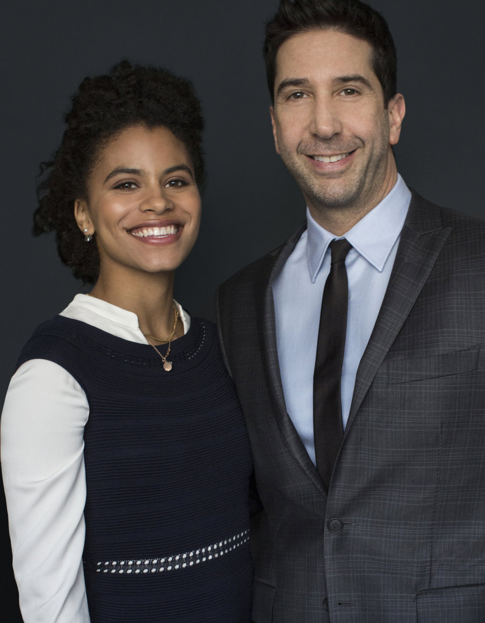 Zazie Beetz & David Schwimmer /  ITS harassment campaign