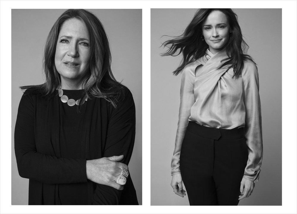 Ann Dowd & Alexis Bledel / W Magazine
