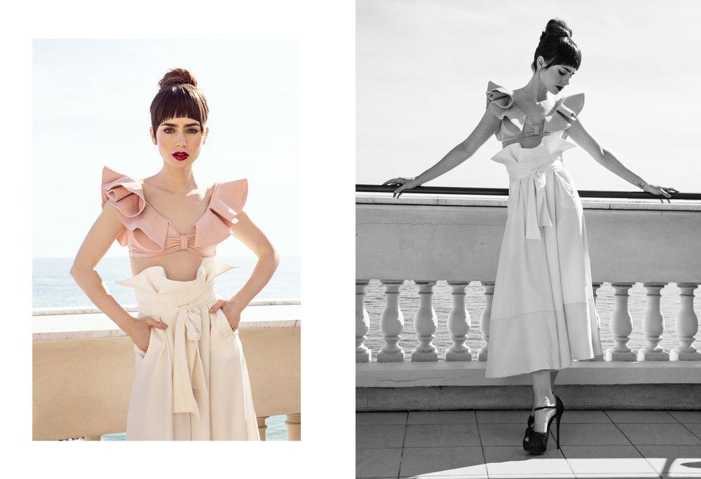 Lily Collins / W Magazine