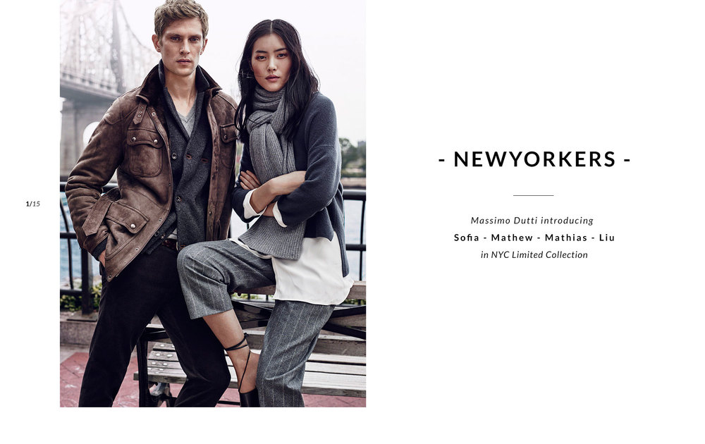 Ingeborg make up artist Massimo Dutti Liu Wen