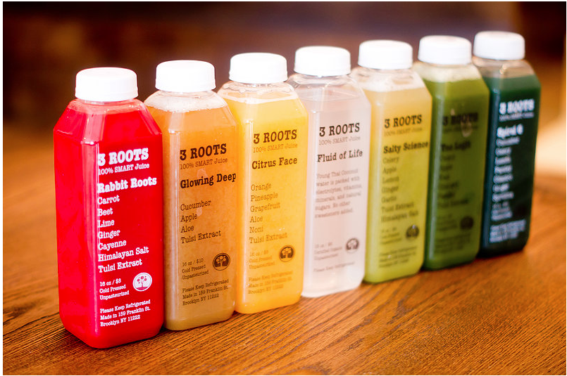 juices 3 roots
