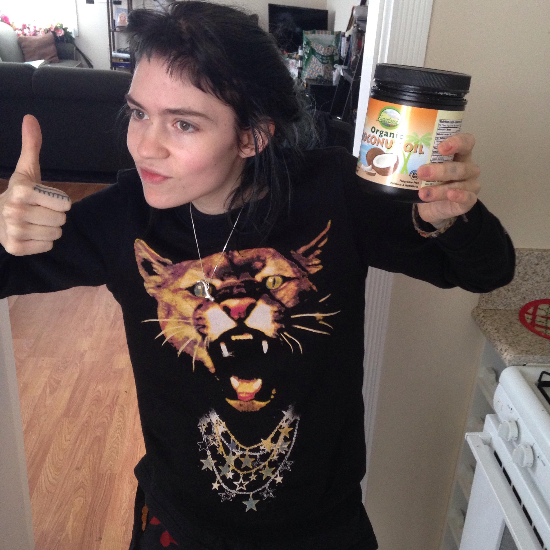 Grimes Shares Her Natural Beauty Secrets Beauty Lies Truth