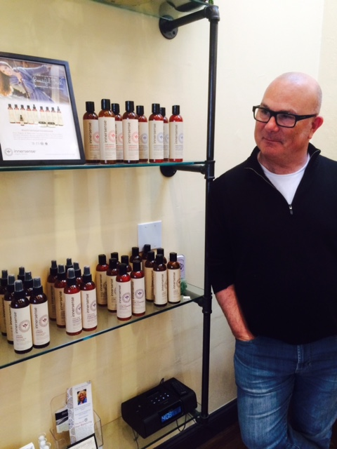 Greg Starkman of Innersense Organic Beauty