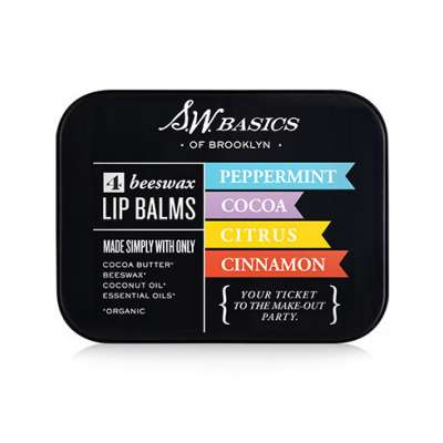S.W. Basics Organic Lip Balm Flight