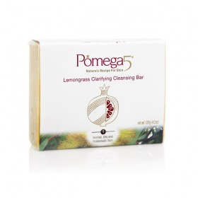 Pomega5 Lemongrass Clarifying Cleansing Bar