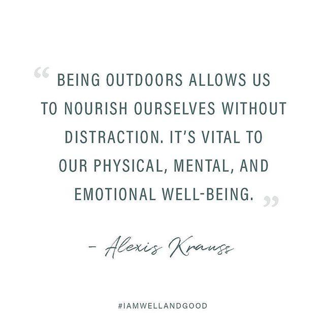 Thank you @iamwellandgood for supporting badassery and beauty 💙#Repost @iamwellandgood ・・・ When nature calls, you should answer. #iamwellandgood #99DaysofSummer