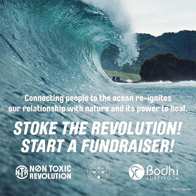 Wanted to share this incredible opportunity courtesy of @nontoxicrev. Crowdfund to win a trip of a lifetime. Details below 🙌🏼🙌🏼🙌🏼 ・・・ Start a fundraiser and win a trip for two to @bodhisurfschool in Costa Rica! {Link in bio ✨} 🌊 Health has many forms, and nurturing your mind and soul is just as important as taking care of your body. @nontoxicrev and @awalkonwater both started their missions in the surf community, and they have a serious passion about being active to heighten our positive mental attitude.