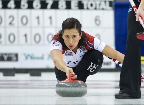 Jill Officer at the 2014 Canadian Open. (Anil Mungal/Sportsnet)