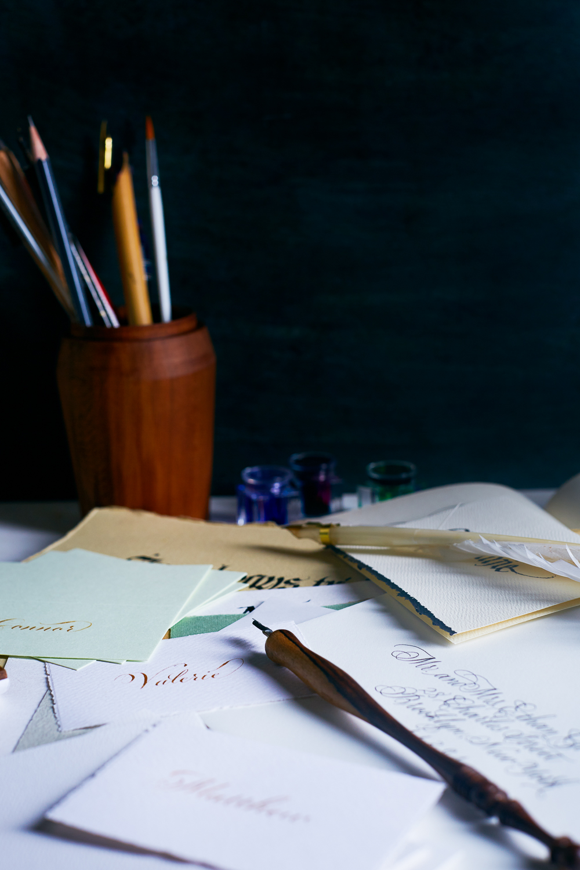 Studio calligraphy | www.chavelli.com
