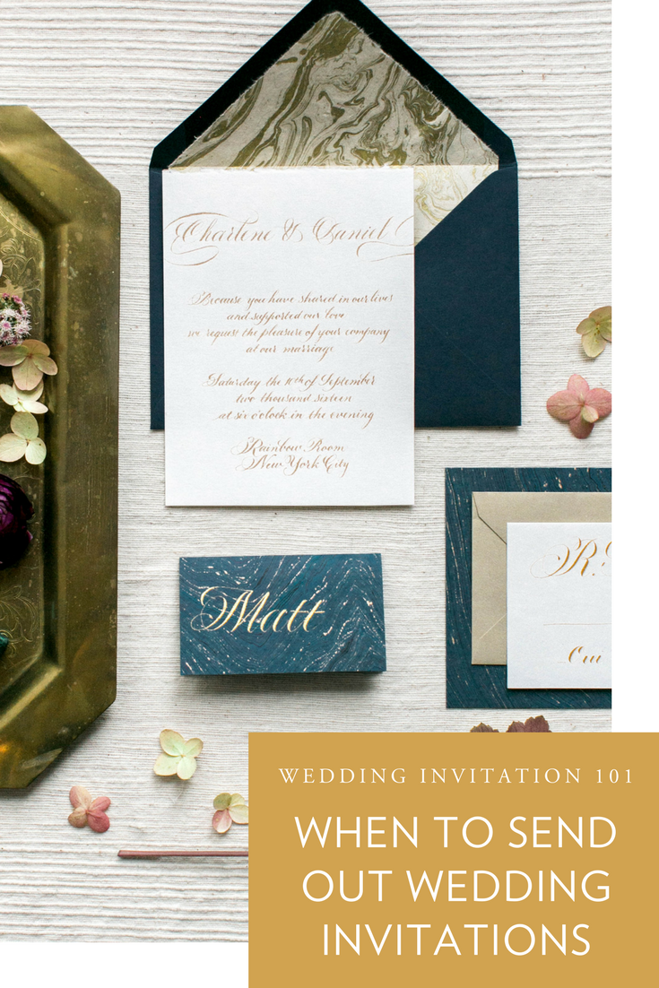 Wedding Invitation Series 5: When to Send Out Wedding Invitations ...