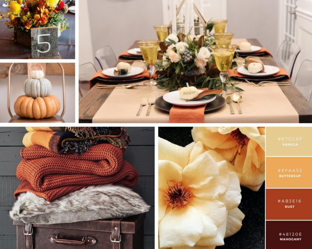 Autumn color palette inspiration // ww.chavelli.com
