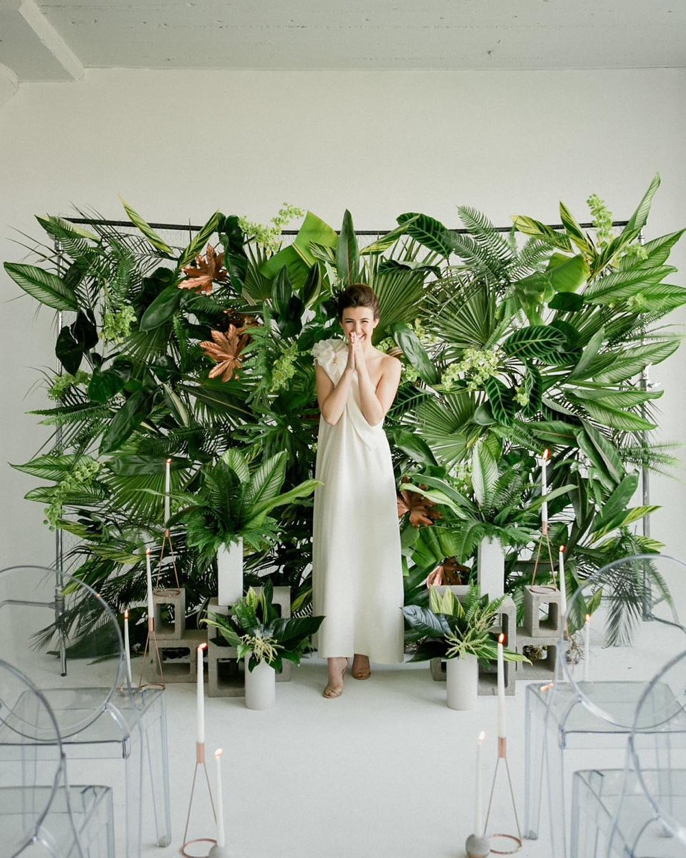 Living wall | Photo by  Jennifer Sosa , Installation by  Inessa Nichols