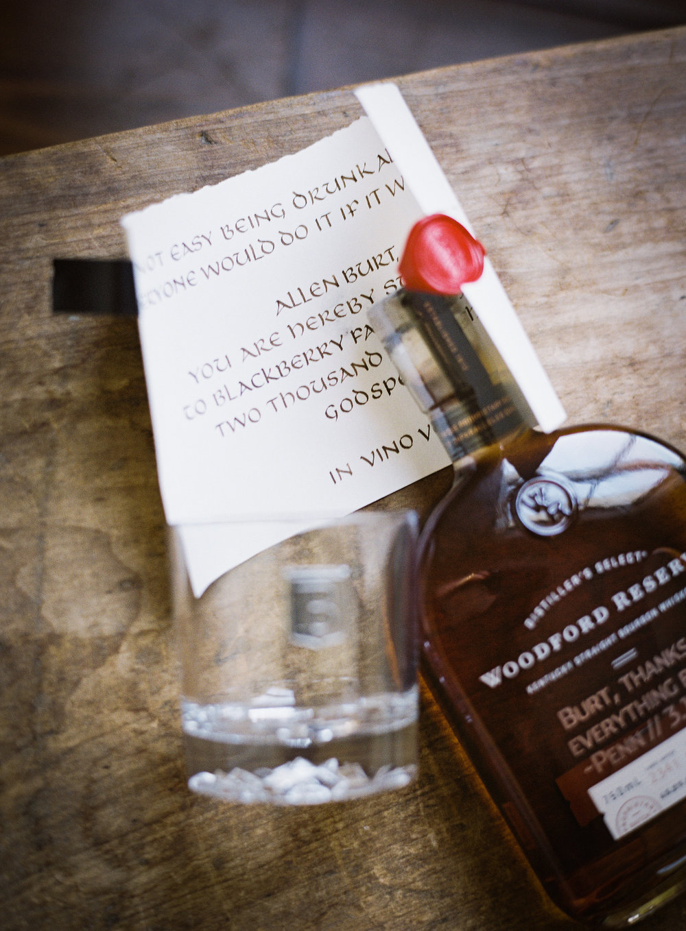 Groomsman summons scroll   calligraphy by Chavelli www.chavelli.com