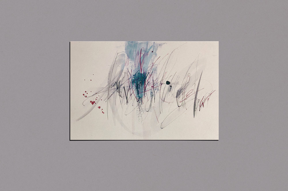 Gestural Calligraphy   by Chavelli www.chavelli.com