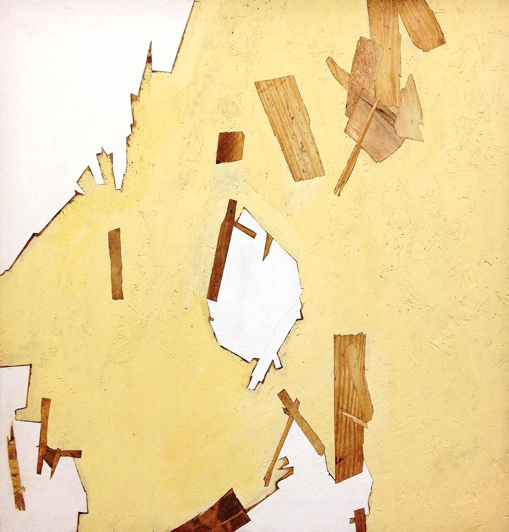 """Prelude N. 1  Acrylic on Panel  36"""" x 36""""  2014"""