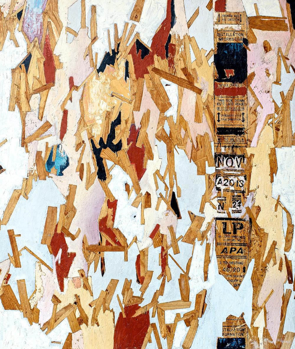 "Cadenza #2  Oil on Panel  48"" x 56""  2014"