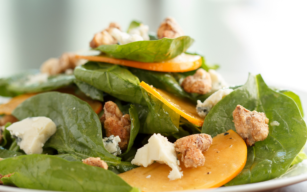 Persimmon and Blue Cheese Salad, Ironwood American Bistro