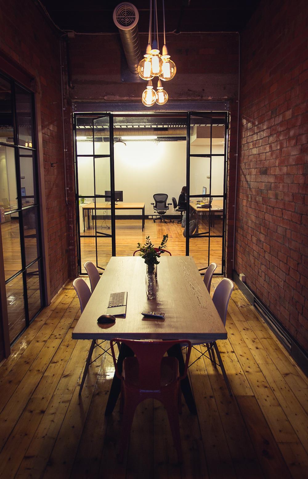 creative coworking meeting