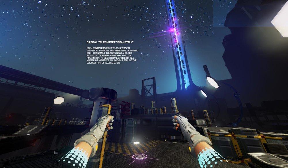 Orbital Teleshifter
