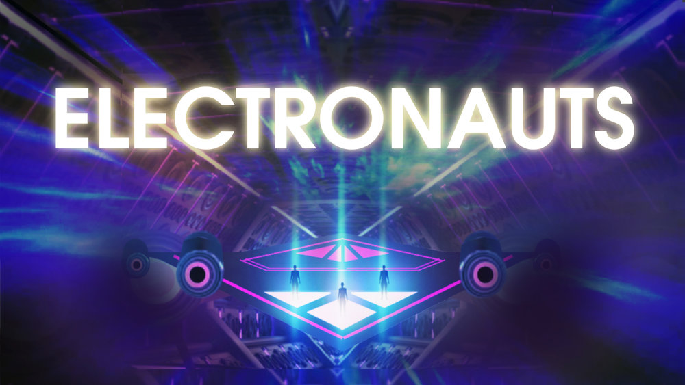 Very early pitch sketch for Electronauts.