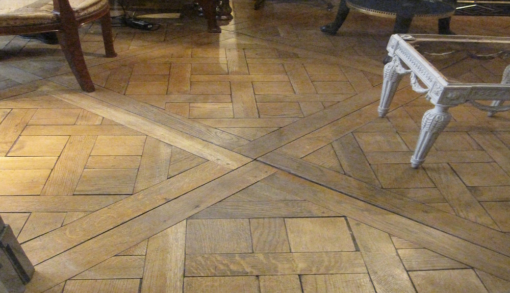 French Oak Versailles Parquet