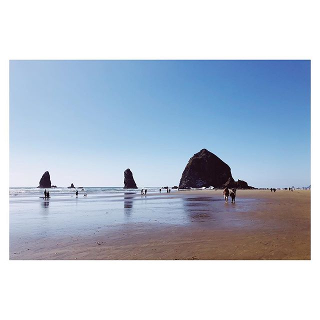 Memorial Day Weekend, 2018 #cannonbeach #oregoncoast #oregonexplored #haystackrock #longweekend