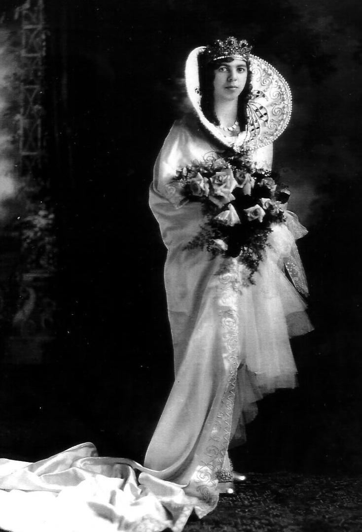 1929 Festival Queen - Romilda Rose Emge