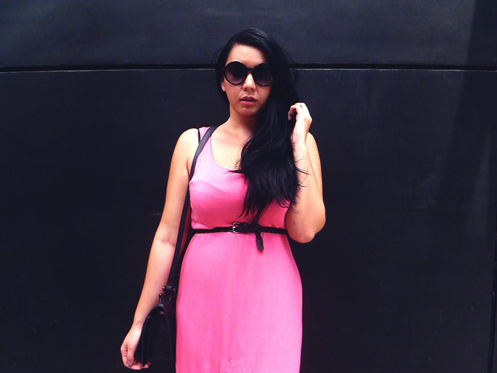 Dress : H&M Belt : H&M Sunglasses : Cotton On Bag : Charles & Keith Sandals : Cotton On