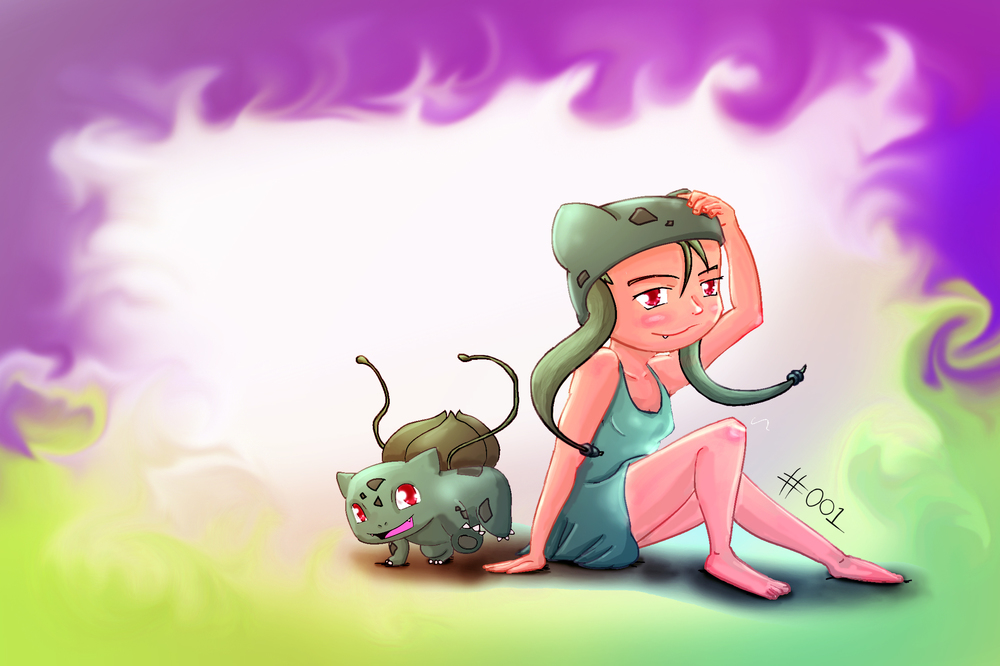 Bulbasaur! Looking forward to this.   New drawings at a steady pace coming up.