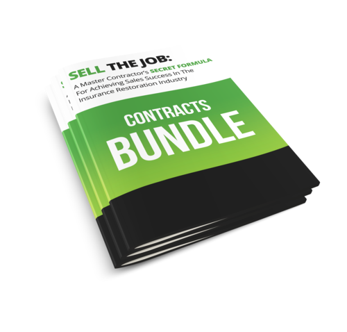 Customer Sales Contracts Package — Insurance Restoration Sales Training