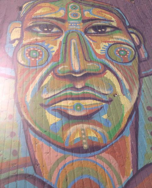 Bogotá  is full of excellent, and oftenpolitical, street art.