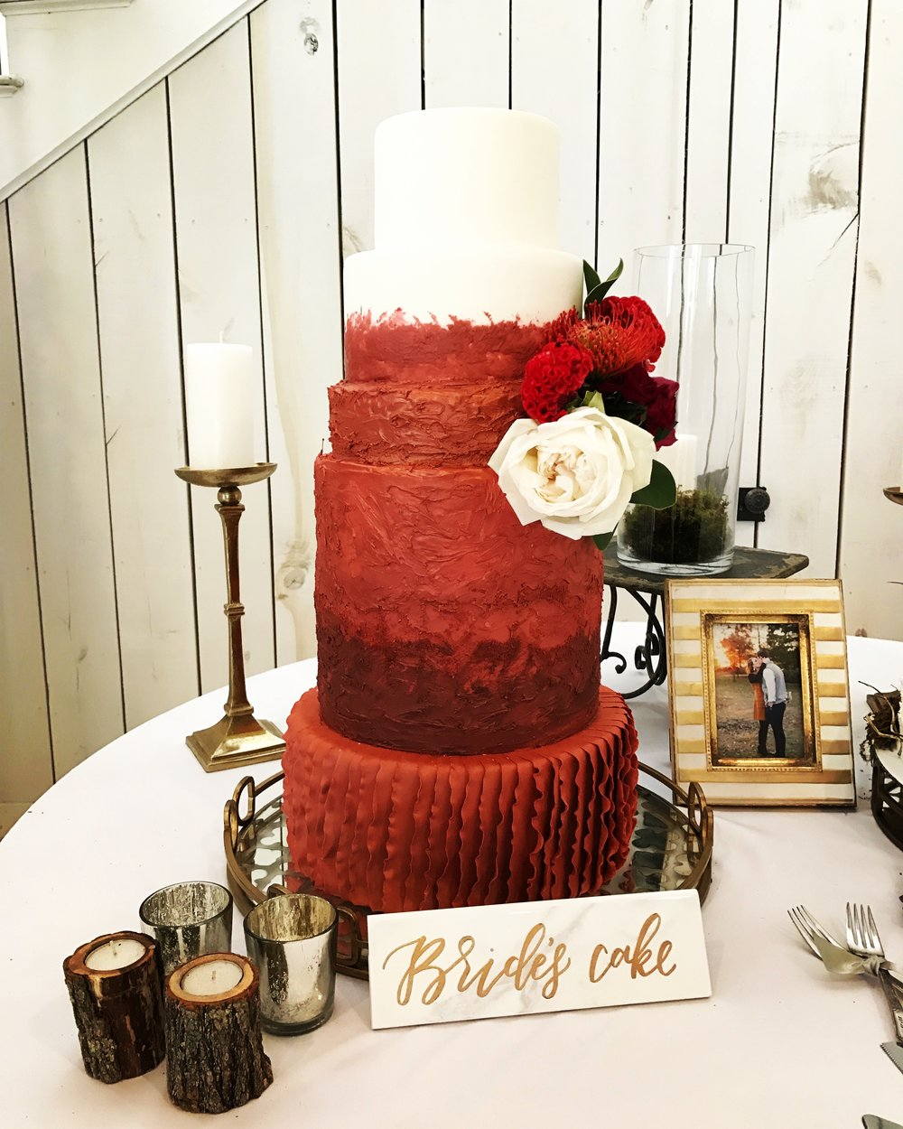 Red Rustic Chic Leah Golter Photography, leahgolterphotography.com