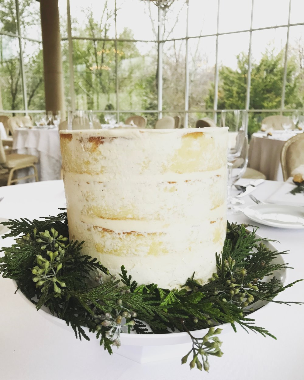 Naked Cake Centerpiece