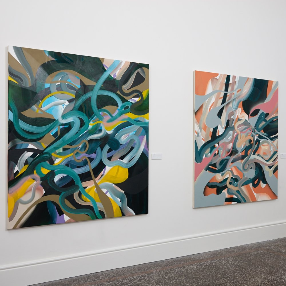 Uno magazine: Grace Wright     24 APRIL 2018  Grace Wright's energetic works combine movement and colour in a feast for the eyes. She recently completed a residency at Hawke's Bay gallery Parlour Projects where she completed an ambitious 11x6m work inspired by the region...