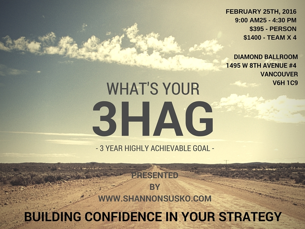 SIGN UP FOR THE 3HAG WORKSHOP HERE