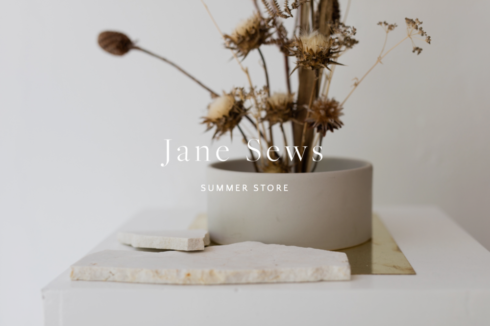 She is Visual x Jane Sews