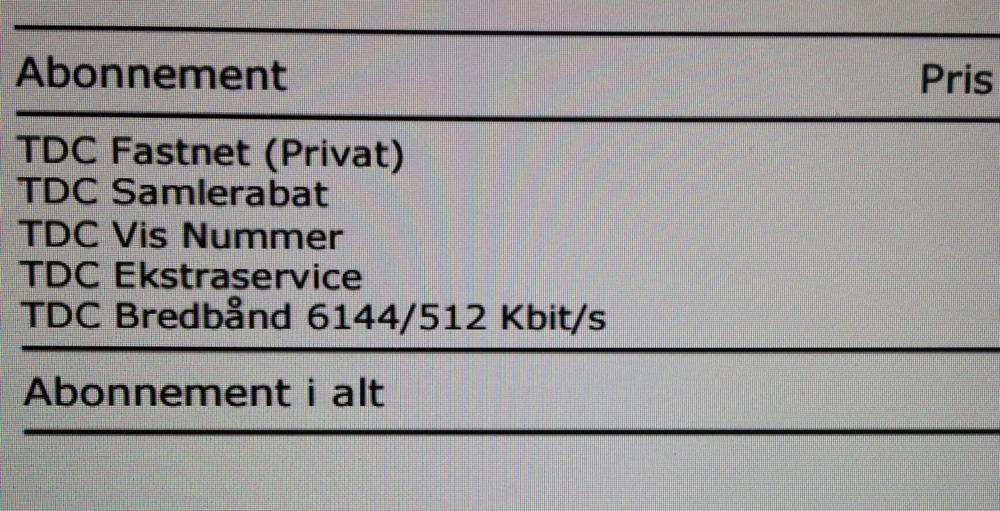 Tjek lige hastigheden - 6 MB for 404 kroner. En dobbelt så hurtig forbindelse kan fås for under 200 kroner.