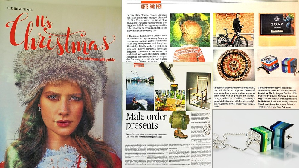 The Irish Times, 'Ultimate Gift Guide' 19/11/2015