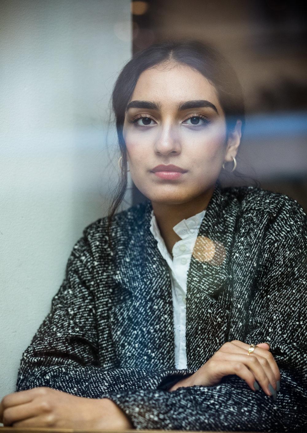 Actress Maria Mozhdah