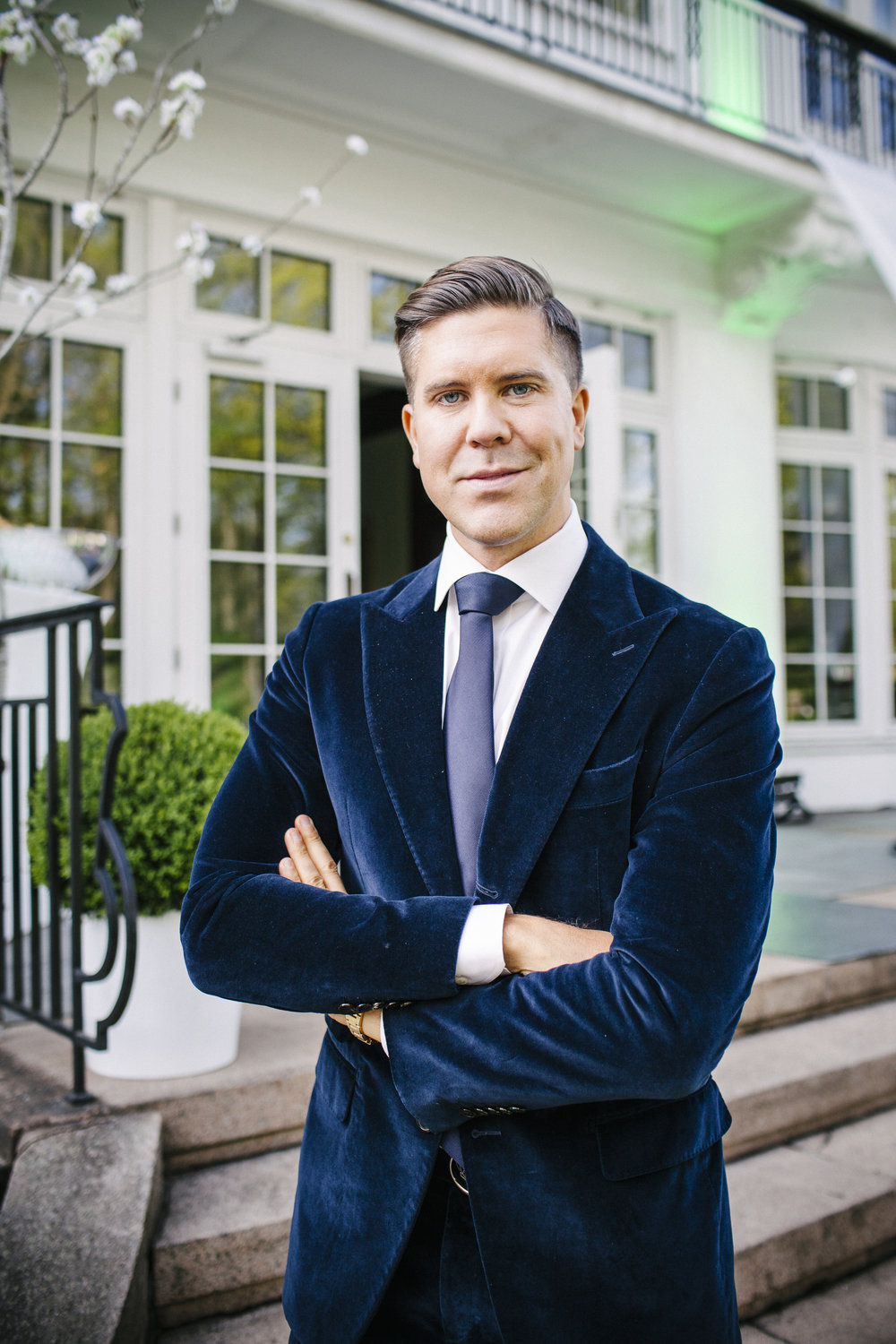 Real-estate agent Fredrik Eklund