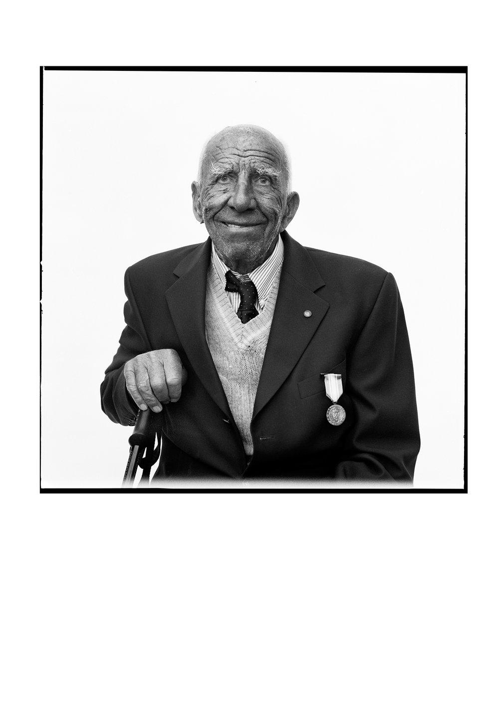 WW2 veteran Tor Sæthersmoen