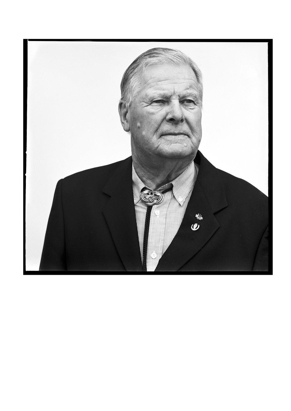 WW2 veteran Klaus Fjeld