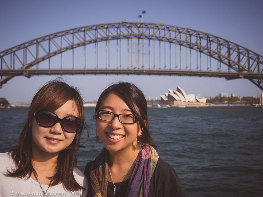 Soojin (left) & Martina (right). 1/800 sec, 22mm, f/4.2, ISO100. In retrospect I should have shot at a higher f-stop number.