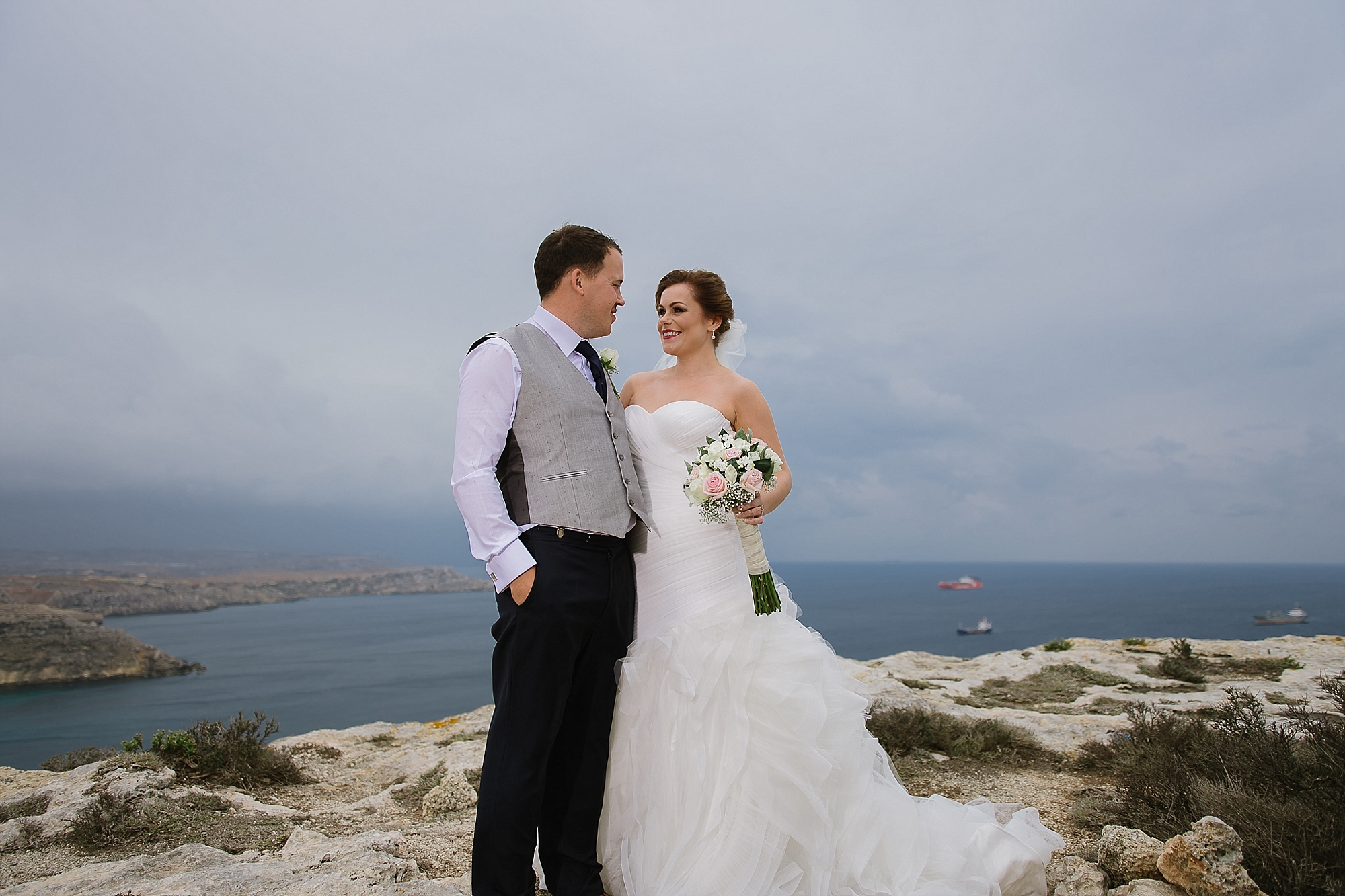 Joanne + David | Radisson Blu Golden Sands — Malta Wedding ...
