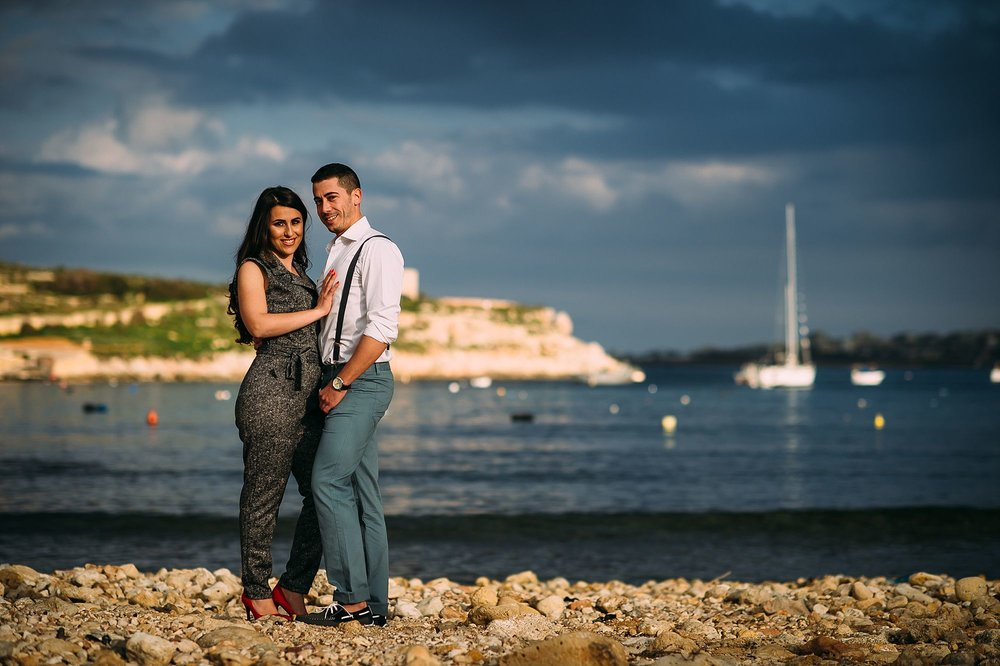 Michela & Massimo - Pre Wedding Session Malta - Shane P. Watts Photography