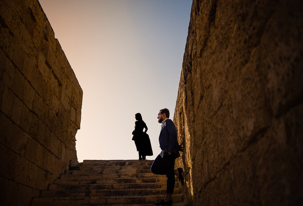 Chantelle & Matthew - Pre Wedding Session - Manoel Island - Shane P. Watts Photography