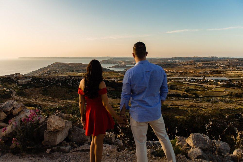 Janice & Iain - Pre Wedding Session - Photography Malta