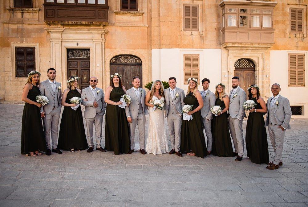 Harley & Jed | Olive Gardens Mdina | Wedding Photography Malta | Shane P. Watts